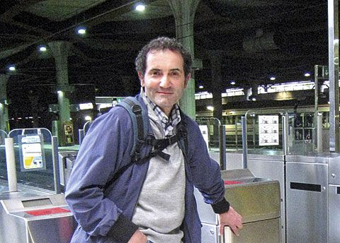 Carlos García, portavoz del colectivo de usuarios del ferrocarril