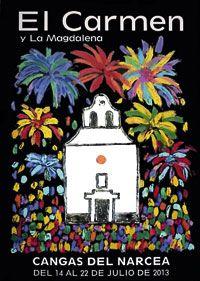 Cartel de las Fiestas de Cangas del Narcea