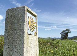 Camino de Santiago a su paso por Asturias