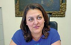 Rosario Fernández Román, alcaldesa de Ribadesella