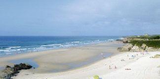 Playa de Fontela en San Pedro de Benquerencia (Barreiros, Lugo)