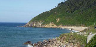 Playa Arenal de Morís, Caravia (Asturias).