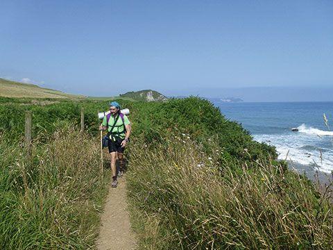 Camino de Santiago a su paso por el concejo de Caravia (Asturias)