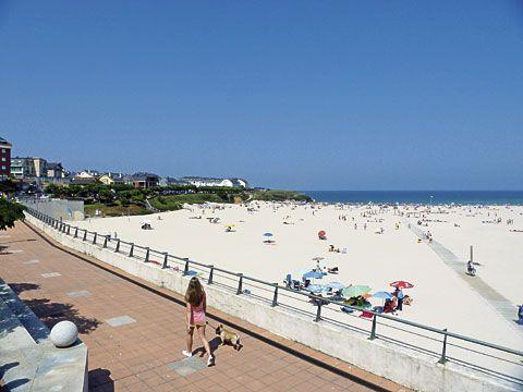 Praia A Rapadoira (Foz, Lugo)