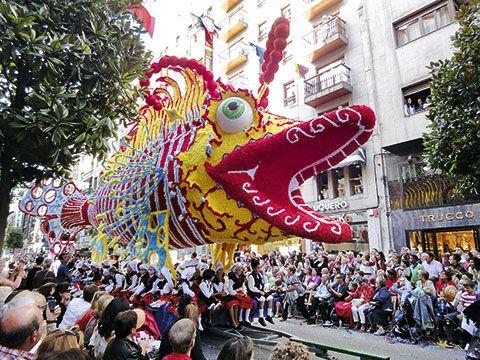 Fiestas de San Mateo. Día de América en Asturias.