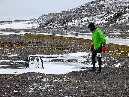 Antártida: Antartica Marathon. 2013.