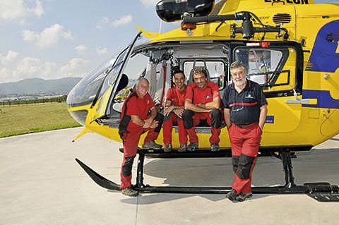 Grupo de Rescatadores Bomberos de Asturias.