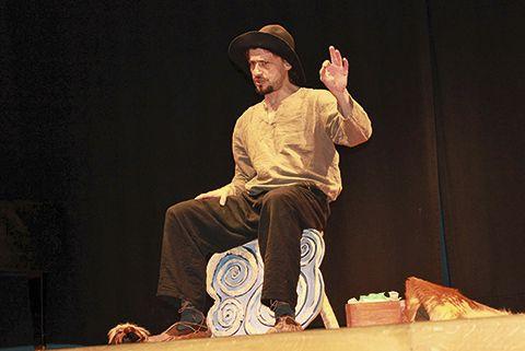 Carlos Alba. Monologuista y cuentacuentos