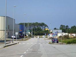 poligono industrial de Barres (Castropol)
