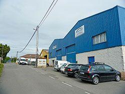 Area Industrial La Lloreda, Gijón.