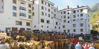 Feria de Ganado en Riosa