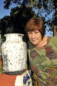 Nieves Alonso. Artesana de la cerámica