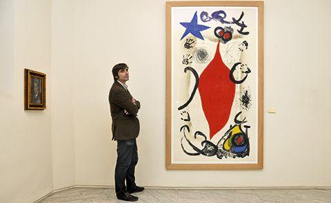 Alberto Palacio. Director del Museo de Bellas Artes de Asturias