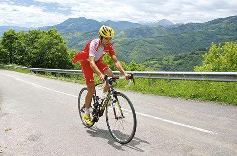 Dani Navarro. Ciclista profesional
