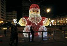 Iluminación navideña en Gijón