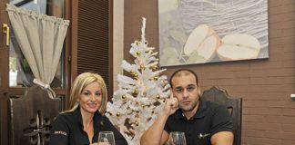 Liliana y David de Restaurante L'Angleiru