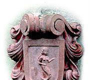 Sirena en un escudo de Pendueles (Llanes)