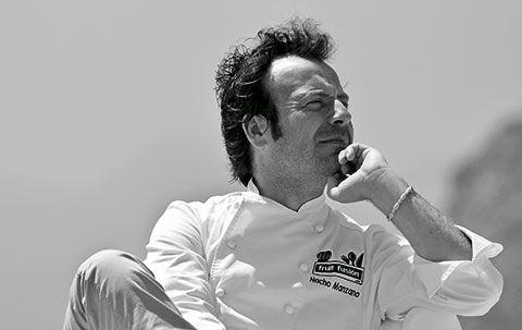 Nacho Manzano. Cocinero asturiano