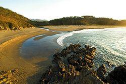 Playa de Frexulfe, Navia