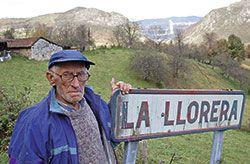 Ernesto Fernández del pueblo de La Llorera