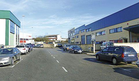 Polígono industrial de Perográn