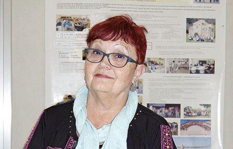 Rosa Fernández, Presidenta de la Asociación de Amigos y Familiares de la UTE de Villabona