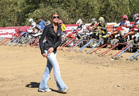 Inés Fonseca. Presidenta de la Federación de Motociclismo del Principado de Asturias