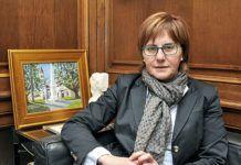 Pilar Varela. Alcaldesa de Avilés