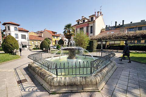Jardines del Ayuntamiento, Noreña