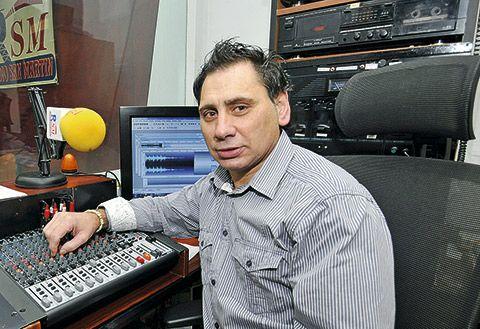 Javier del Caño, Radio San Martín