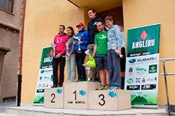 Ganadores del I Trail Xtreme Angliru