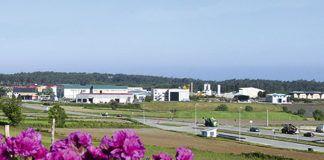 Vista general del Polígono Industrial de Río Pinto (Coaña)