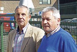 En la foto, Víctor Menéndez, presidente de Aspefa (izda.) y Ángel Villabrille, vicepresidente (dcha.)