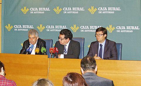 Presentación ante los medios del convenio entre Caja Rural y Reader