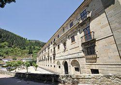 Monasterio de Corias, actualmente Parador Nacional