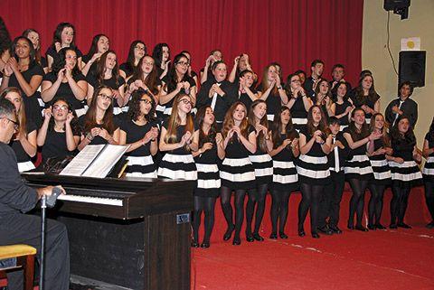 Los chicos del coro. Aula Coral del IES de Foz