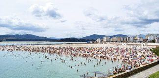 Playa de A Rapadoira (Foz, Lugo)