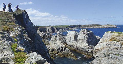 Cabo Blanco. El Franco, Asturias