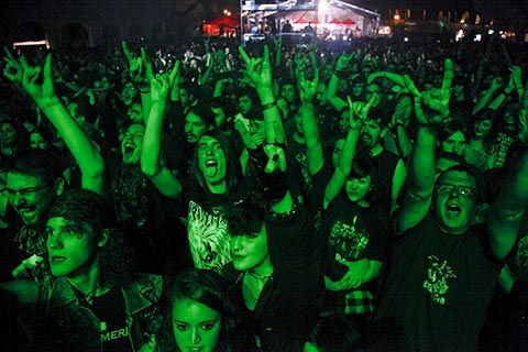 Concierto de Helloween en La Ería (Oviedo)