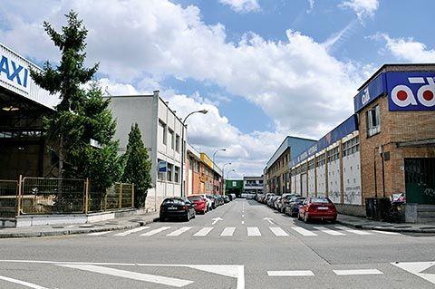 Poligono industrial de Ferreros (Oviedo)