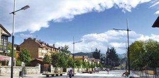 Avenida de La Constitución. Pola de Laviana