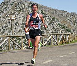Martín Fiz en la carrera pedestre que tuvo lugar en el 2010
