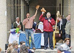 Puya del Ramu durante las Fiestas del Rosario