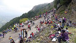 Vuelta Ciclista a España 2013 a su paso por L'Angliru