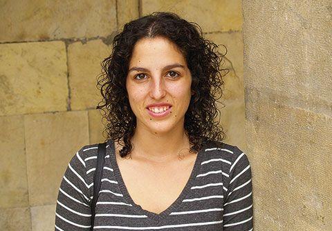 Llarina González. Brigadista en Palestina