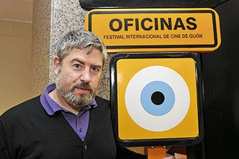 Nacho Carballo. Director del Festival Internacional de Cine de Xixón.