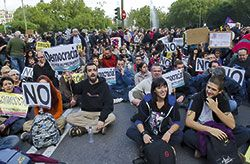 """Manifestación """"Por una democracia participativa"""""""