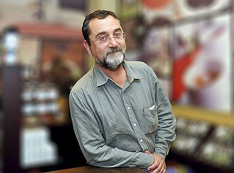 Álvaro Díaz Huici. Director de Ediciones Trea