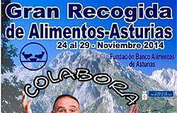Próximamente tendrá lugar la Gran Recogida 2014 que organiza la Fundación Banco de Alimentos de Asturias.