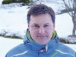 Armando Valdés, director de la Escuela Española de Esquí Fuentes de Invierno